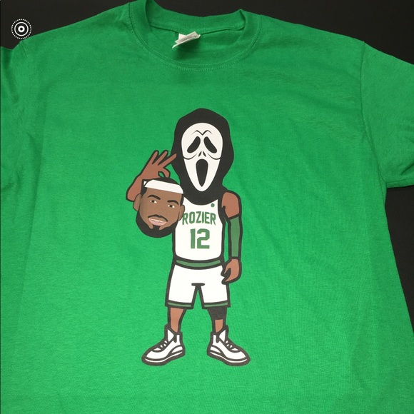 Scary Terry Rozier Boston Celtics White T-shirt